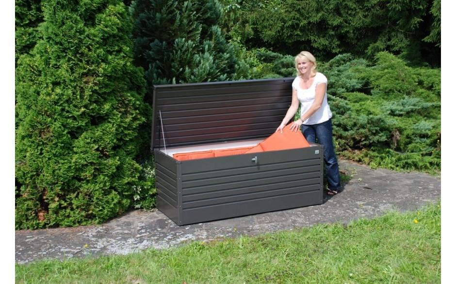 FreizeitBox Gr. 180 in dunkelgrau-metallic