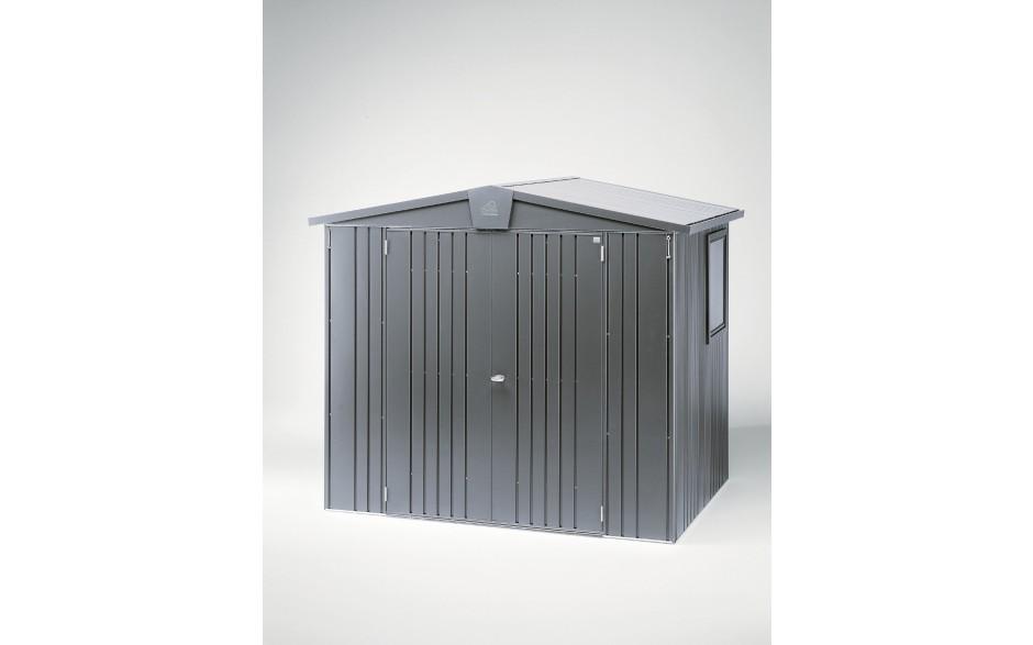 Casetta portattrezzi Europa mis. 3 grigio scuro metallizzato