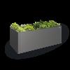 MoestuinBox  2x1, donkergrijs metallic