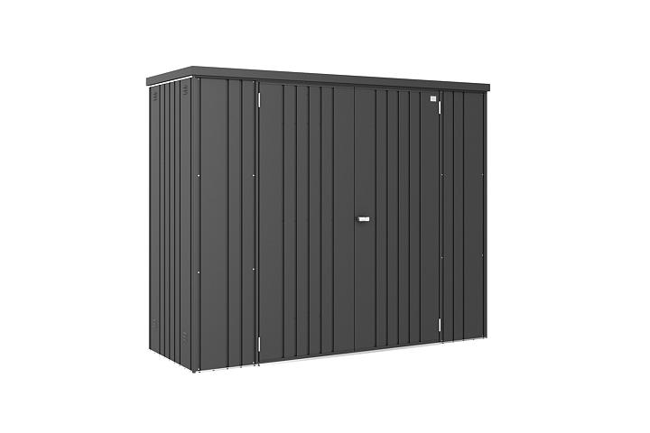 Metalen Opbergkasten Garage : Metalen tuinkast tuinkast metaal biohort