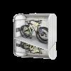 """Biohort Fahrradbox StoreMax 190 mit Fahrradständer """"bikeHolder"""" (als Zubehör erhältlich)"""