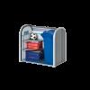 Biohort Mülltonnenverkleidung StoreMax 120 quarzgrau-metallic mit Eckregale-Set als Zubehör erhältlich