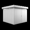 Biohort Gartenhaus CasaNova 3x3 silber-metallic