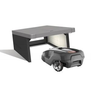 Robotic lawn mower garage Charly