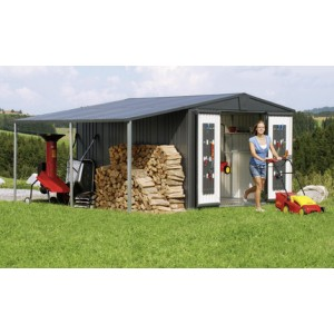 Side canopy for Garden Shed