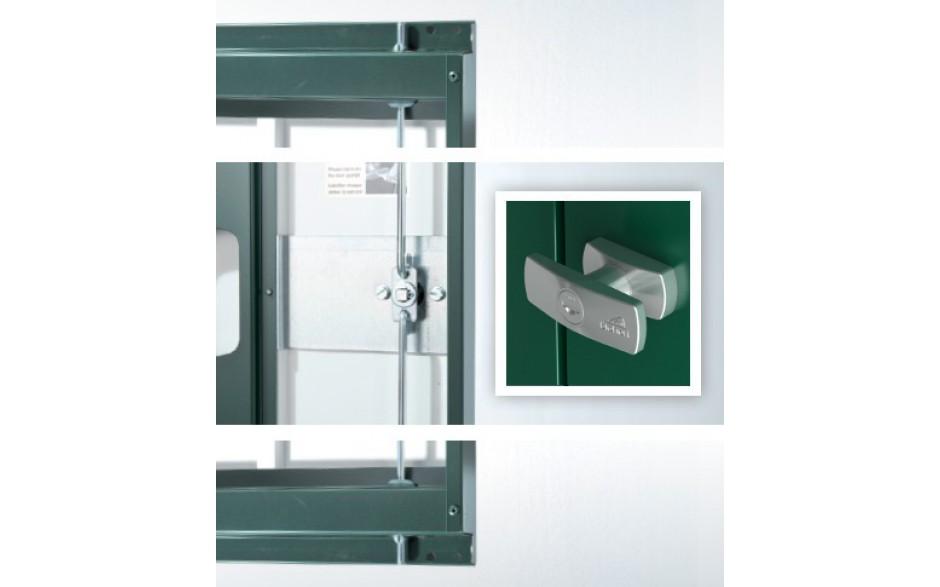 Zylinderschloss - Drehgriff-Zylinderschloss inkl. Reserveschlüssel