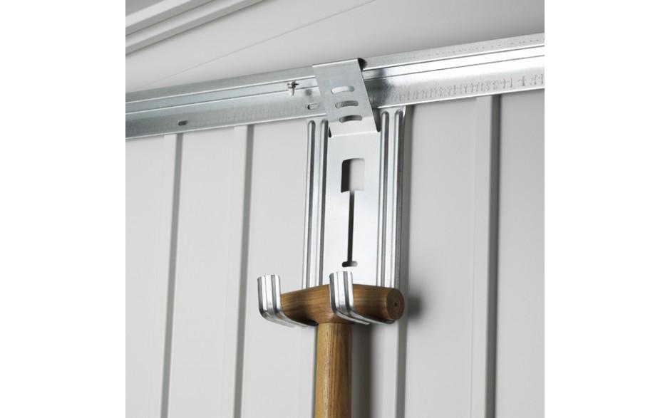 Gerätehalter - Der Biohort Gerätehalter zum Aufhängen von Spaten, Rechen, Schläuchen, etc.