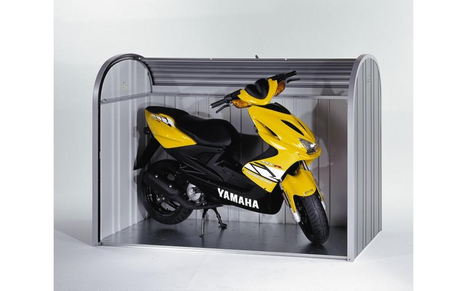 Mofagarage - Der StoreMax schützt sogar Ihren Scooter vor Wind, Wetter und Diebstahl